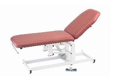 Electrical examination table / height-adjustable / 2-section 130 kg | 90005T CARINA