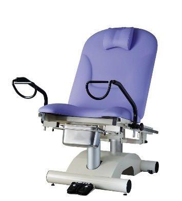 Gynecological examination table / electrical / height-adjustable / 2-section 200 kg | FEMINA07 CARINA