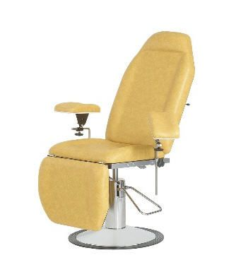 Height-adjustable blood donor armchair / hydraulic 130 kg | 51214T CARINA