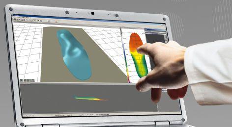 Orthopedic insole design software / CAD / CAM / medical EASYCAD® Sensor Medica