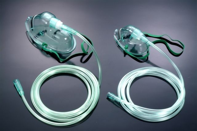 Oxygen mask / facial / PVC OM-81112, OM-81122 Besmed Health Business