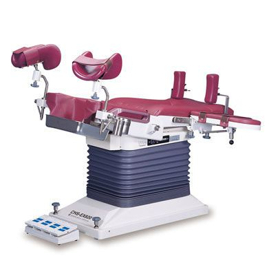 Gynecological examination table / electro-hydraulic / height-adjustable / 2-section CHS-EX820 JW Medical