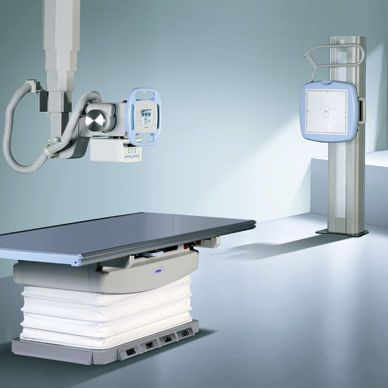 Radiography system (X-ray radiology) / digital / for multipurpose radiography / with vertical bucky stand VIDIX II JW Medical
