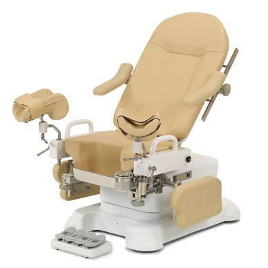 Gynecological examination chair / electrical / 2-section CHS-E1000 JW Medical