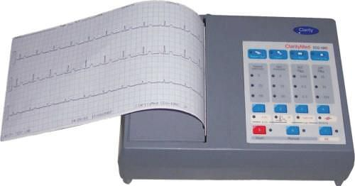 Analog electrocardiograph / 3-channels ECG 100D Clarity Medical