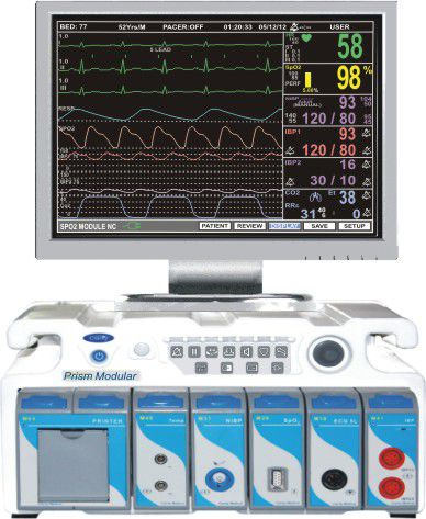 Patient central monitoring station PRISM MODULAR Clarity Medical