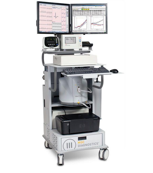 Cardio-respiratory stress test equipment Ultima™ CardiO2® MGC Diagnostics