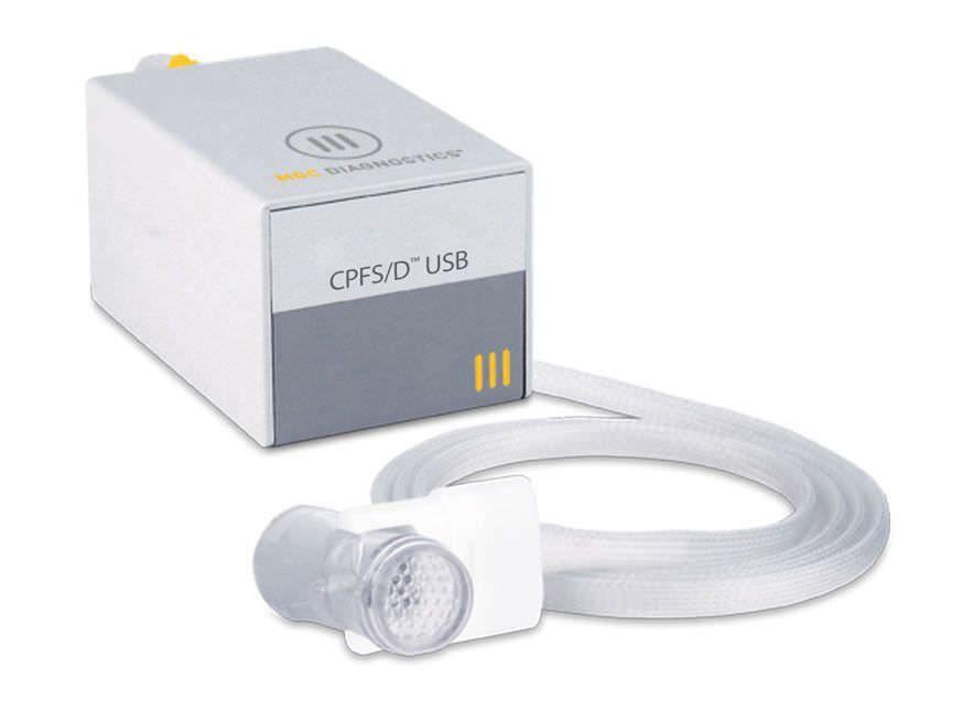 Computer-based spirometer / USB CPFS/D USB™ MGC Diagnostics