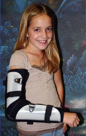 Elbow splint (orthopedic immobilization) / pediatric RHINO Pediatric Orthopedic Designs, Inc.