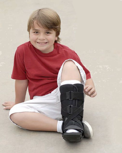Pediatric walker boot / long RHINO STOMPER RHINO Pediatric Orthopedic Designs, Inc.