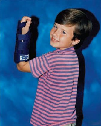 Wrist splint (orthopedic immobilization) / pediatric RHINO Pediatric Orthopedic Designs, Inc.