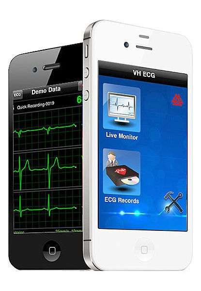 Touchscreen tablet electrocardiograph / wireless / digital / 12-channel VH ECG Vales & Hills BioMedical Tech.
