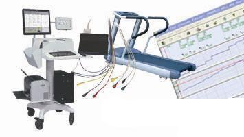 Cardiac stress test equipment CV1200 Vales & Hills BioMedical Tech.