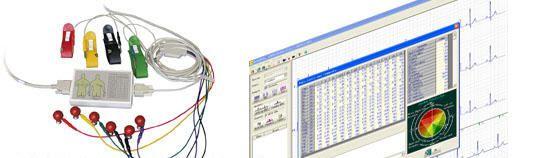 Patient data management system / ECG CV200 Vales & Hills BioMedical Tech.