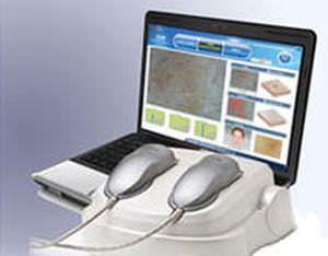 Cutaneous sebum analysis skin diagnosis system / melanin level analysis / cutaneous hydration level analysis SDM Bomtech