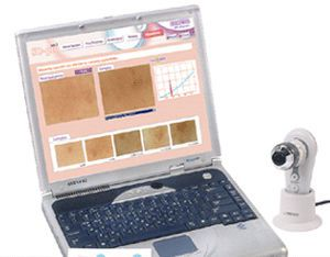 Cutaneous sebum analysis skin diagnosis system / melanin level analysis / cutaneous hydration level analysis SD-PRO Bomtech