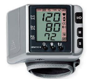 Automatic blood pressure monitor / electronic / wrist / with speaking mode UATTE-H Jawon Medical