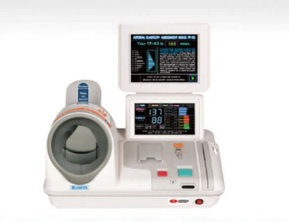 Automatic blood pressure monitor / electronic / arm / with built-in cuff NEX 400 (R/L) Jawon Medical