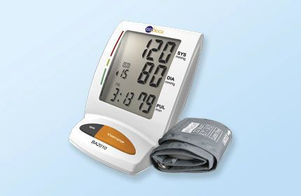 Automatic blood pressure monitor / electronic / arm BA2010 nu-beca & maxcellent