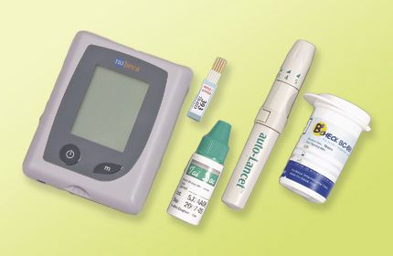Diabetes kit BC888 nu-beca & maxcellent