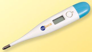 Medical thermometer / electronic / with audible signal / waterproof 32 °C ... 43.0 °C   IT0801 nu-beca & maxcellent