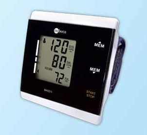 Automatic blood pressure monitor / electronic / wrist / with touchscreen BW2215 nu-beca & maxcellent