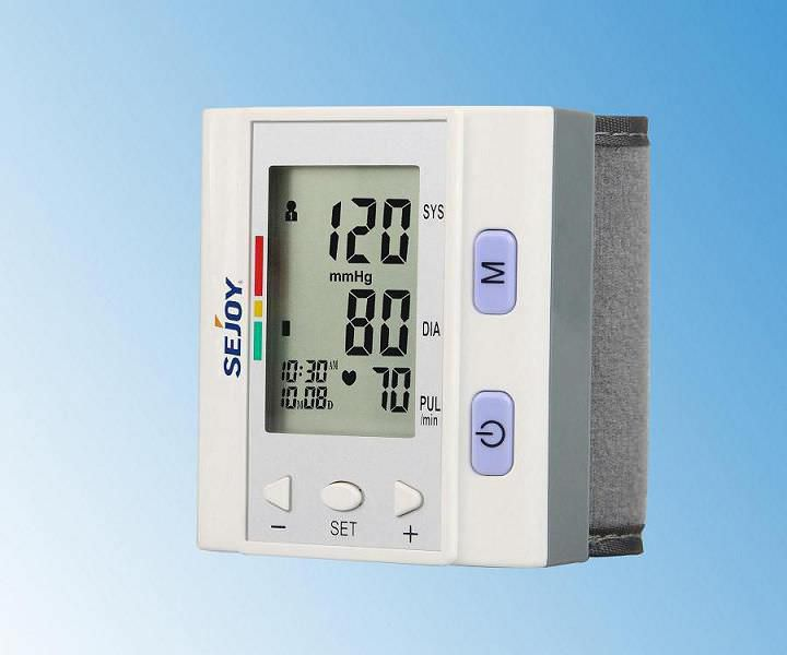 Automatic blood pressure monitor / electronic / wrist BP?202H Hangzhou Sejoy Electronics & Instruments