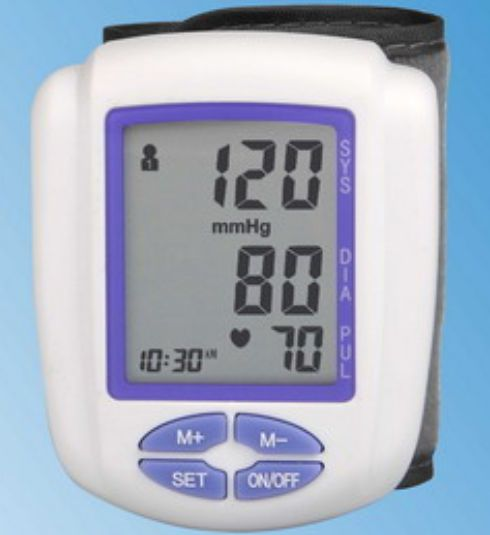 Automatic blood pressure monitor / electronic / wrist BP-202 Hangzhou Sejoy Electronics & Instruments