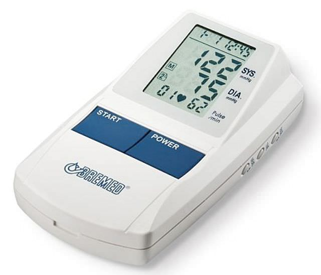 Automatic blood pressure monitor / electronic / arm BD550 Bremed