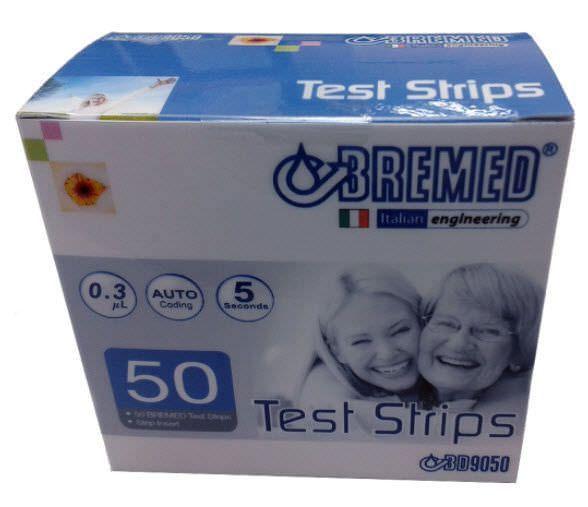 Blood glucose test strip BD9050 Bremed