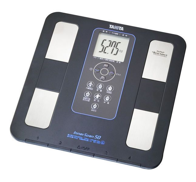 Fat measurement body composition analyzer / home / with LCD display BC-351 Tanita Europe