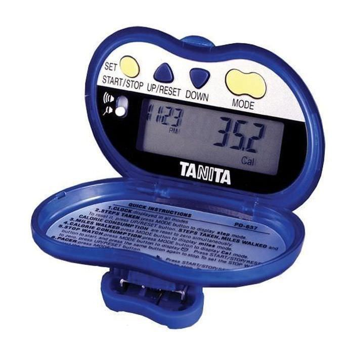 Pedometer with calorie counter PD-637 Tanita Europe