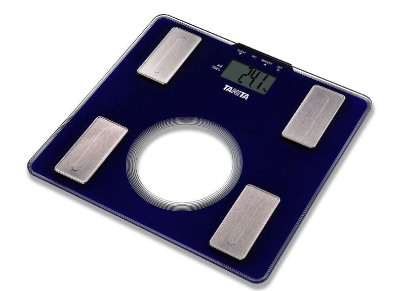 Home body composition analyzer / for fat measurement / with LCD display UM-040 Tanita Europe