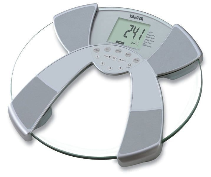 Home body composition analyzer / for fat measurement / with LCD display BC-532 Tanita Europe
