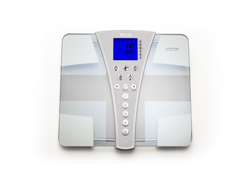 Home body composition analyzer / for fat measurement / with LCD display BC-587 Tanita Europe
