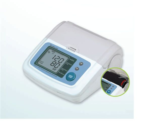 Automatic blood pressure monitor / electronic / wrist 40 - 300 mmHg, 40 - 199 bpm | NBP100 HuBDIC