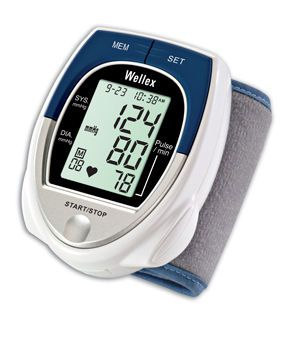 Automatic blood pressure monitor / electronic / wrist 30 - 280 mmHg | BPM121 AViTA Corporation