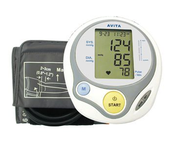 Automatic blood pressure monitor / electronic / arm 30 - 280 mmHg | BPM613 AViTA Corporation