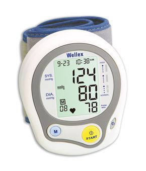 Automatic blood pressure monitor / electronic / wrist 30 - 280 mmHg | BPM112 AViTA Corporation