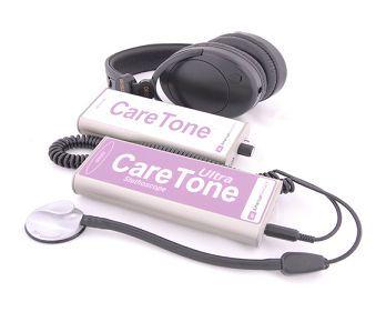 Electronic stethoscope / teleconsultation CareTone® American Telecare