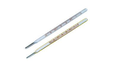 Medical thermometer / mercury 35.0 °C ... +42.9 °C | 7001-A Huahui Medical Instruments
