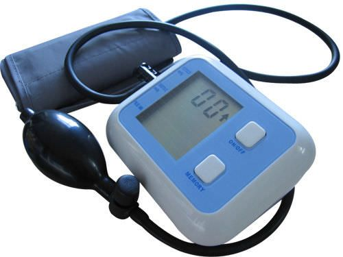 Semi-automatic blood pressure monitor / electronic / arm BP527 Huahui Medical Instruments