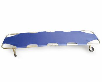 Stretcher / on casters / 1-section DGQ002-2 Jiangsu Dengguan Medical Treatment Instrument