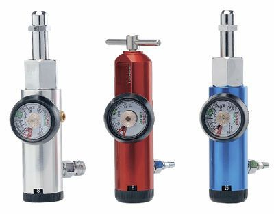 Oxygen pressure regulator / adjustable-flow CGA Jiangsu Dengguan Medical Treatment Instrument