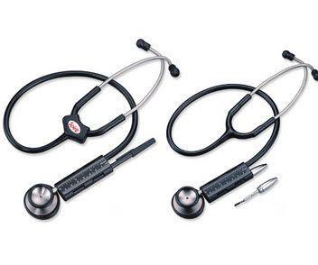 Dual-head stethoscope / stainless steel CK-S612 Spirit Medical