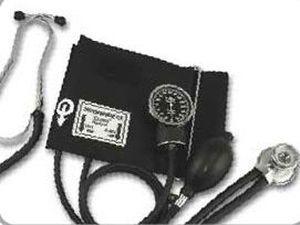 Cuff-mounted sphygmomanometer / with stethoscope 300 mmHg - 700R(200) Tytan Medical