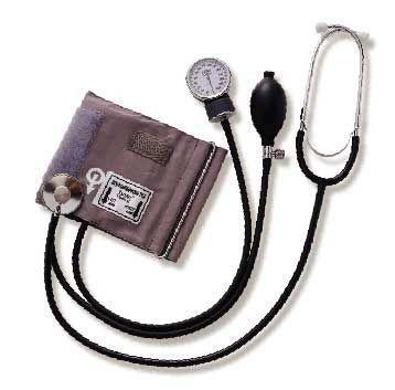 Cuff-mounted sphygmomanometer / with stethoscope 300 mmHg - 700K (110) Tytan Medical