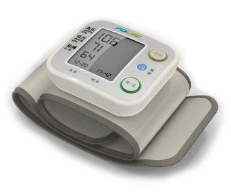Automatic blood pressure monitor / electronic / wrist 0 - 280 mmHg, 40 - 199 bpm | DX-W4 Jiangsu Folee Medical Equipment