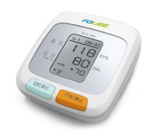 Automatic blood pressure monitor / electronic / arm / with speaking mode 0 - 280 mmHg, 40 - 199 bpm | DX-B2 Voice Jiangsu Folee Medical Equipment