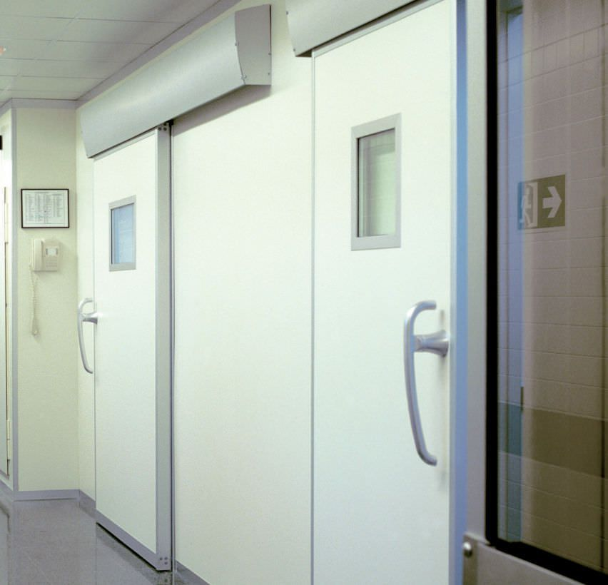Laboratory door / for operating theaters / sliding / automatic Tedisel Medical